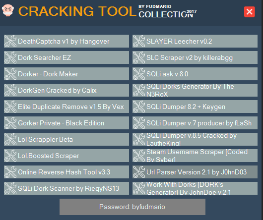 Mega-Pack] All cracking Tools By Fudmario - Page 3 - Bruteforce